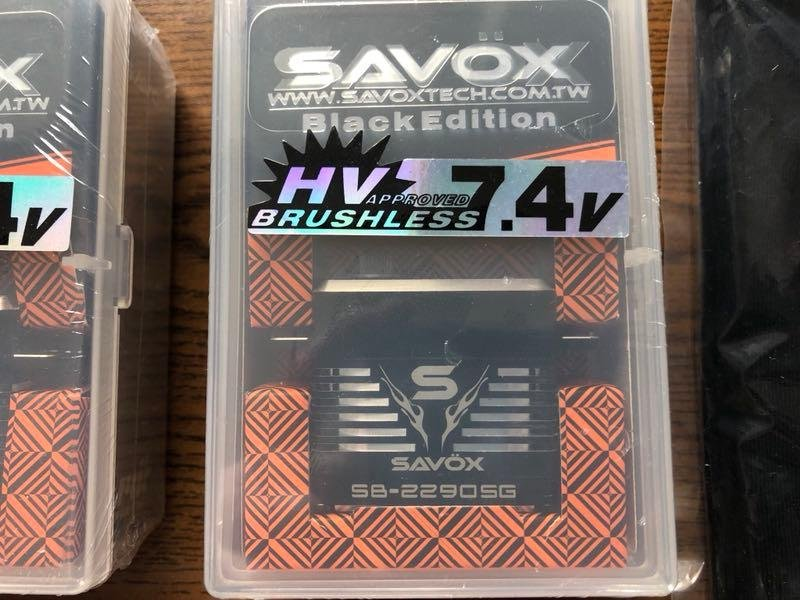 Image 1 of Fall SALE Savox 2290SG, 1270TG, 1230SG & 0220MG servos