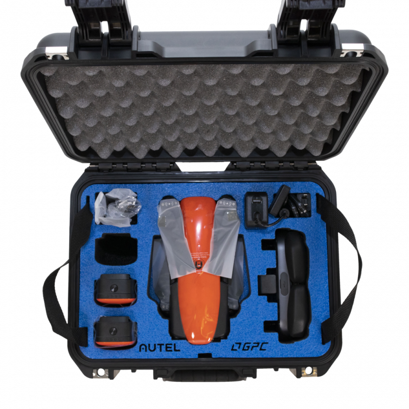 Image 1 of Autel robotics Evo orange Rugged Bundle  FREE car charger & extra battery May 27