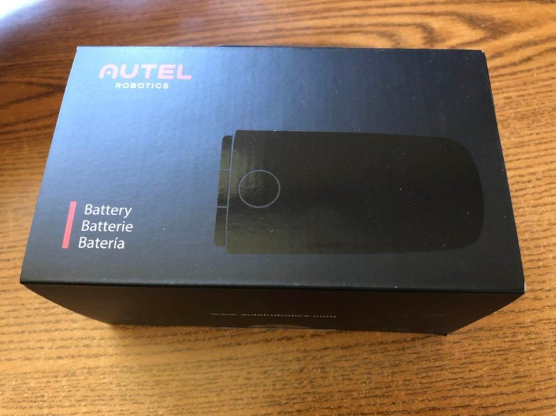 Image 1 of Autel robotics Evo battery orange