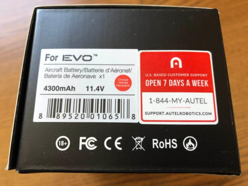 Image 4 of Autel robotics Evo battery orange