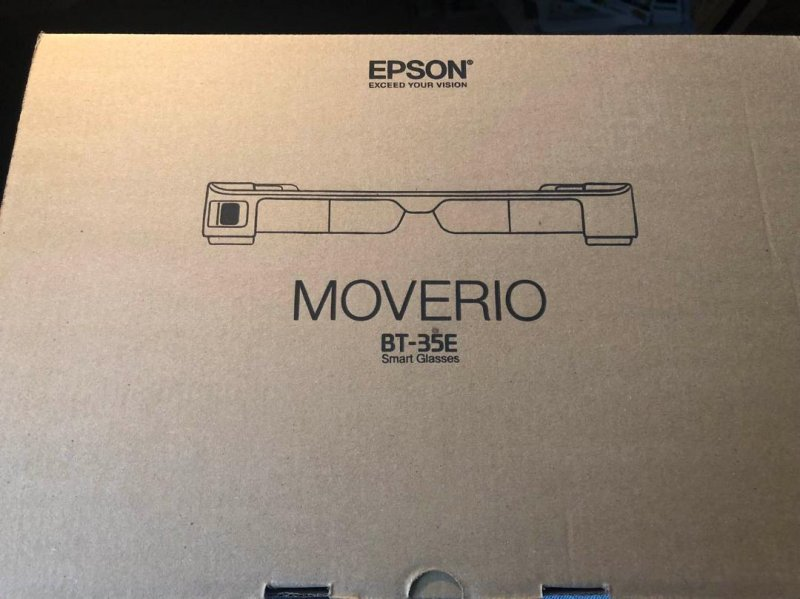 Image 1 of  Epson Moverio BT-35E Smart Glasses