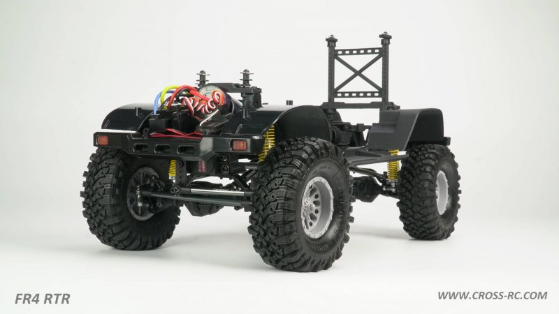 Image 4 of Cross RC FR4 1/10 Demon 4x4 RTR; No Battery or Charger - Gunmetal