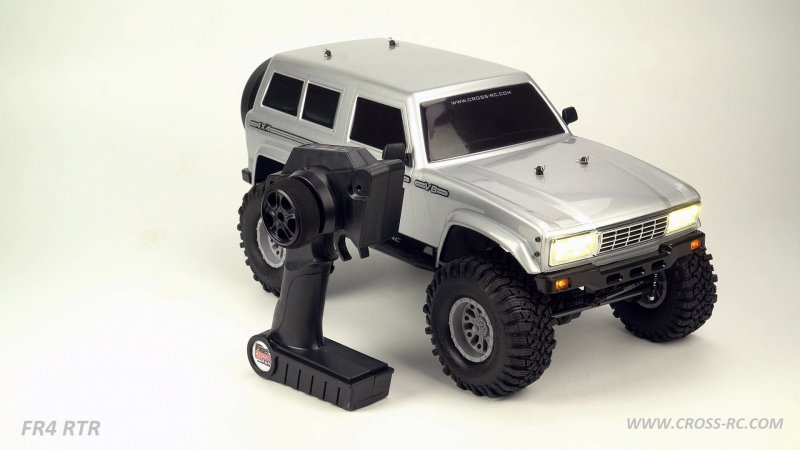 Image 0 of Cross RC FR4 1/10 Demon 4x4 RTR; No Battery or Charger - Gunmetal