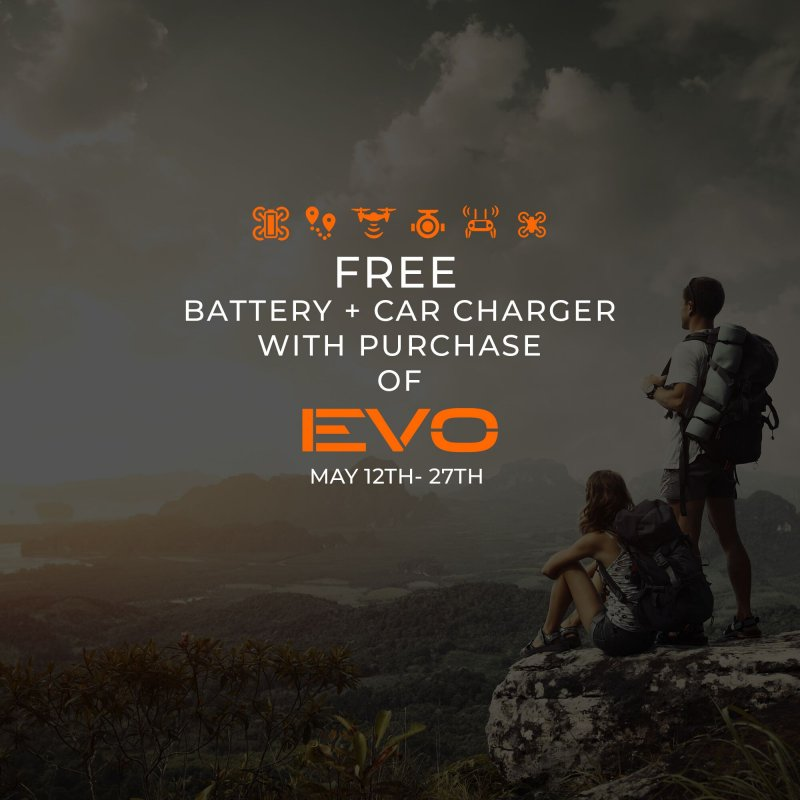 Image 9 of Autel robotics Evo orange Rugged Bundle  FREE car charger & extra battery May 27
