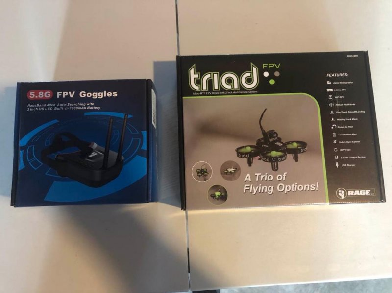 Image 1 of Rage Triad FPV 3-in-1 Pocket Drone & FPV