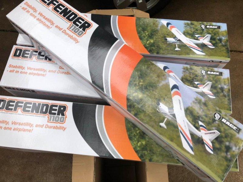 Image 6 of Rage Defender 1100 EP RTF Aircraft RTF