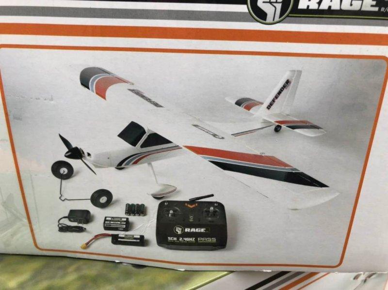 Image 8 of Rage Defender 1100 EP RTF Aircraft RTF