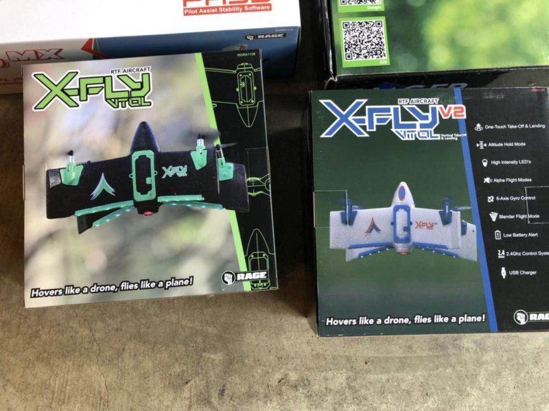 Image 4 of Rage  Imager drone, Xfly, vintage stick red