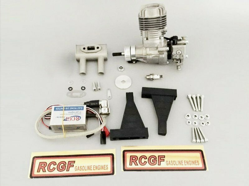 Image 0 of RCGF 20cc RE Stinger Rear exhaust NEW