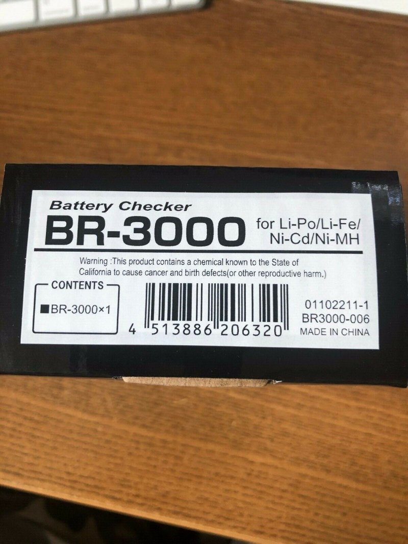 Image 1 of Futaba BR-3000 Battery/Balance Checker, for LiFe, LiPo, NiCd, & NiMh