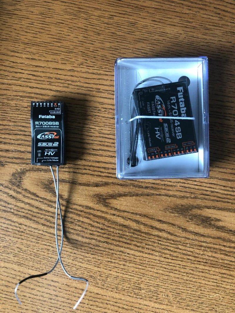 Image 0 of (2) Brand new Futaba receivers R7014SB & R7008SB