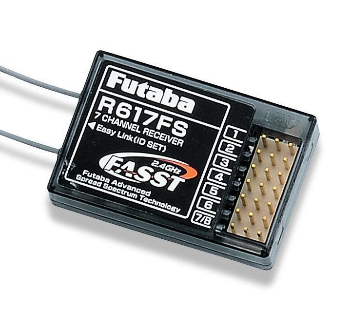 Image 2 of Futaba 617FS FASST 2.4GHz 7-Channel Receiver For aircraft New Year special