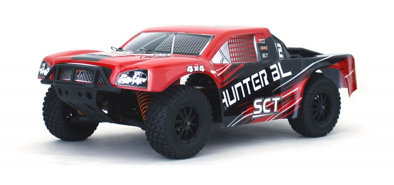 Image 1 of Hunter Brushless 1/10 4WD Short Course Truck, Ready To Run - No Battery or Charg