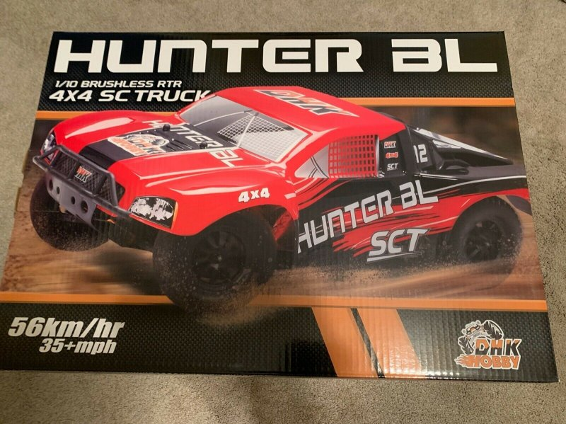 Image 0 of Hunter Brushless 1/10 4WD Short Course Truck, Ready To Run - No Battery or Charg