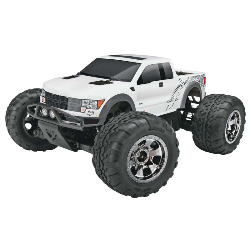 Image 1 of Savage XS Flux Ford SVT Raptor RTR, 1/10 Scale, 4WD, Brushless, w/ 2.4GHz Radio