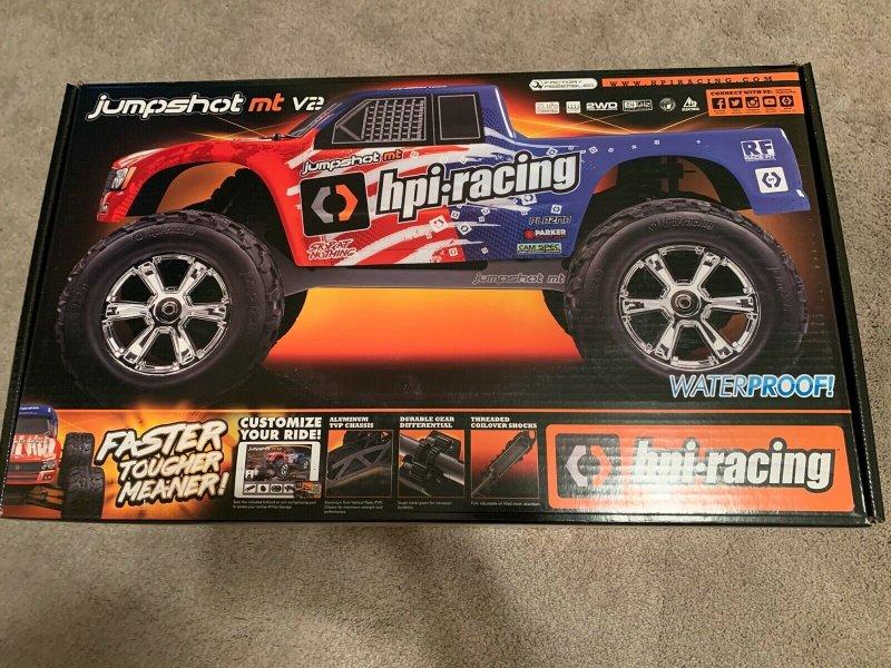 Image 0 of Jumpshot 1/10 Monster Truck V2 RTR, 2WD
