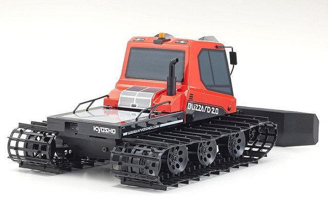 Image 3 of KYOSHO 1/12 EP Blizzard 2.0 Readyset Black Friday