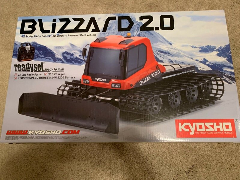 Image 0 of KYOSHO 1/12 EP Blizzard 2.0 Readyset Black Friday