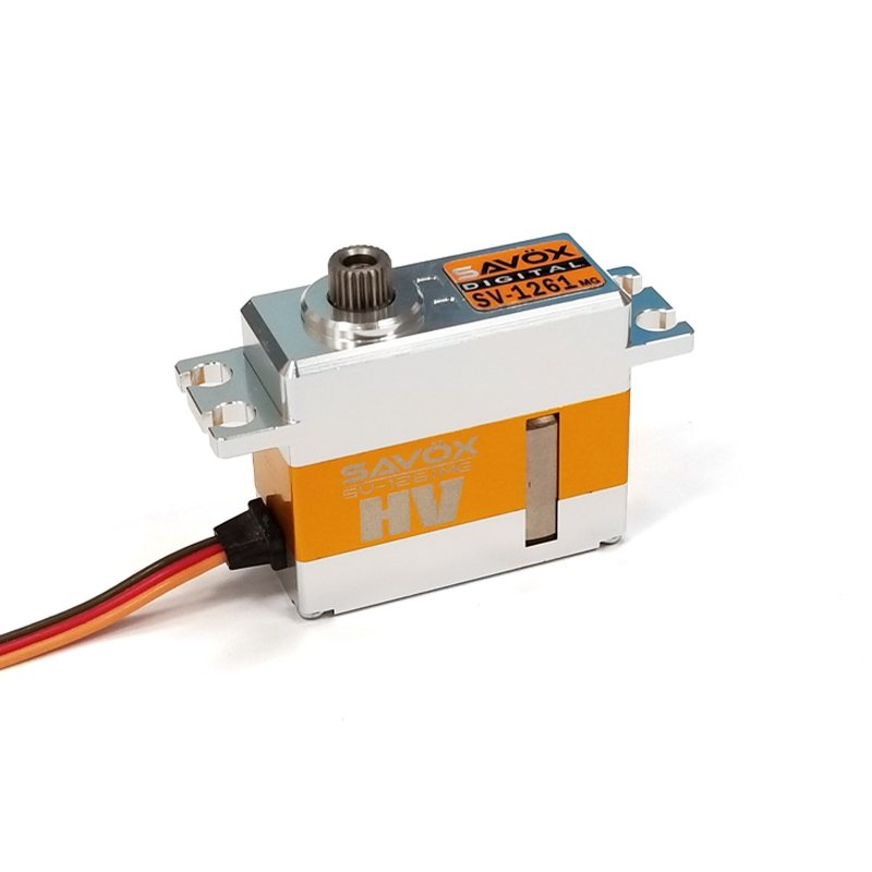 Image 0 of Savox Mini Hi Torque High Voltage Digital Servo 0.095sec / 277oz @ 7.4V