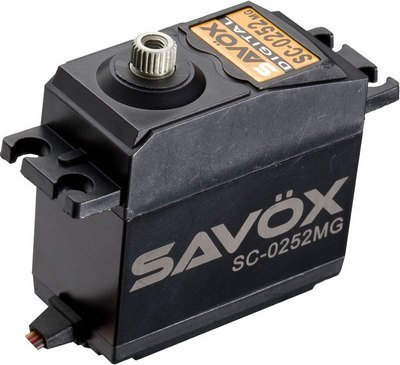 Image 3 of Lot of 6 Savox 0252MG STD DIGITAL SERVO .19/145 with/FREE 1.5