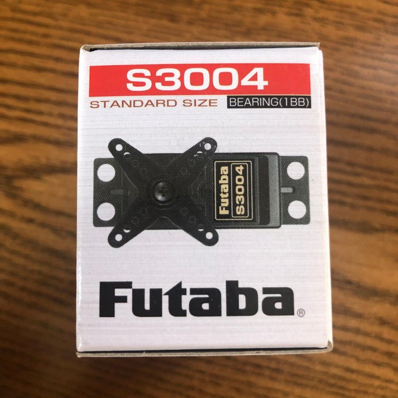 Image 1 of Futaba S3004 (Lot of 6) Standard Ball Bearing Servo .19sec/56.9oz @ 6V
