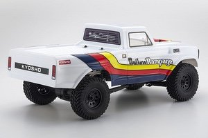 Image 1 of Kyosho Outlaw Rampage 1/10 2wd 2SRA Electric Truck, White, Readyset