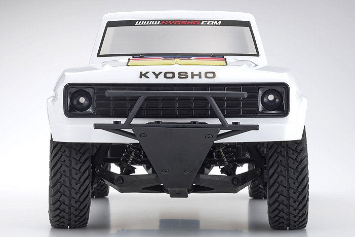 Image 2 of Kyosho Outlaw Rampage 1/10 2wd 2SRA Electric Truck, White, Readyset