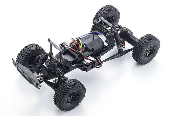 Image 3 of Kyosho Outlaw Rampage 1/10 2wd 2SRA Electric Truck, Blue, Readyset