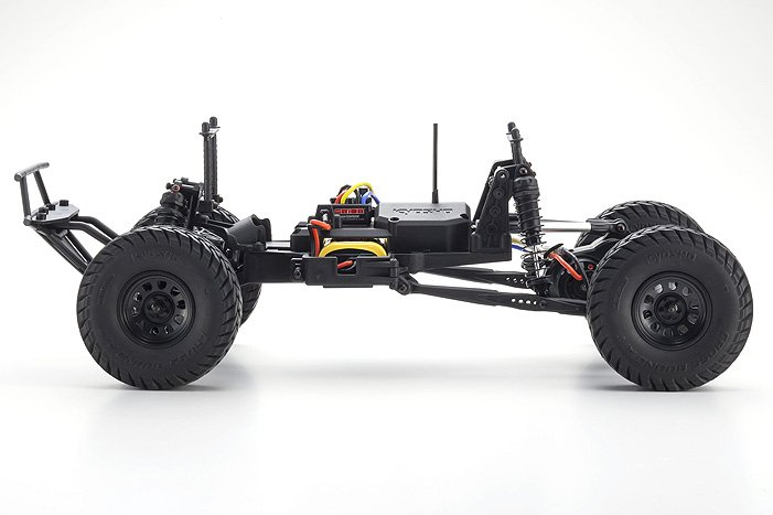 Image 4 of Kyosho Outlaw Rampage 1/10 2wd 2SRA Electric Truck, White, Readyset