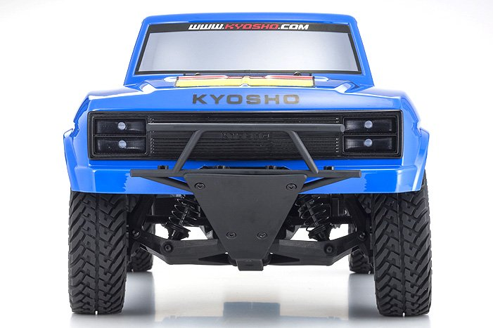 Image 2 of Kyosho Outlaw Rampage 1/10 2wd 2SRA Electric Truck, Blue, Readyset