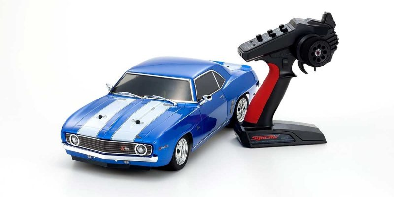 Image 1 of Kyosho 1/10 1969 Chevy Camaro Z28 RTR, w/ Le Mans Body, Blue