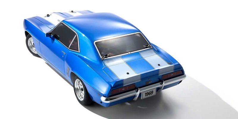 Image 2 of Kyosho 1/10 1969 Chevy Camaro Z28 RTR, w/ Le Mans Body, Blue