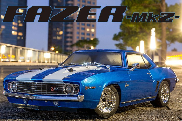 Image 3 of Kyosho 1/10 1969 Chevy Camaro Z28 RTR, w/ Le Mans Body, Blue