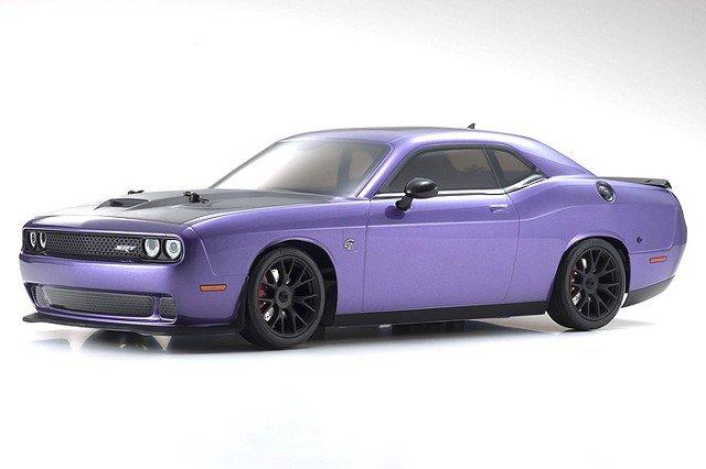 Image 0 of Kyosho 2015 Dodge Challenger Hellcat SRT RTR, Plum Crazy Purple, 1/10 Electric 4