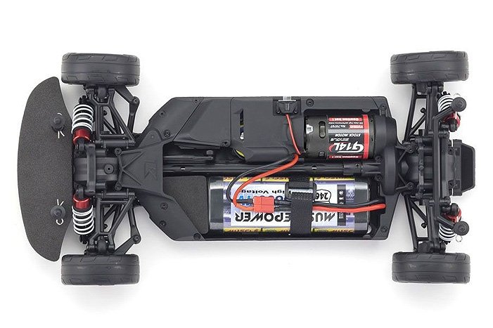 Image 2 of Kyosho 2015 Dodge Challenger Hellcat SRT RTR, Plum Crazy Purple, 1/10 Electric 4