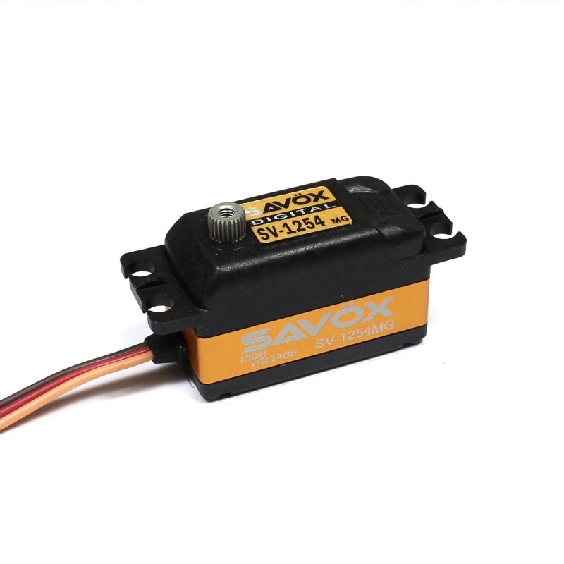 Image 2 of Savox 1254MG High Voltage Coreless Low Profile Digital Servo 0.085sec / 208