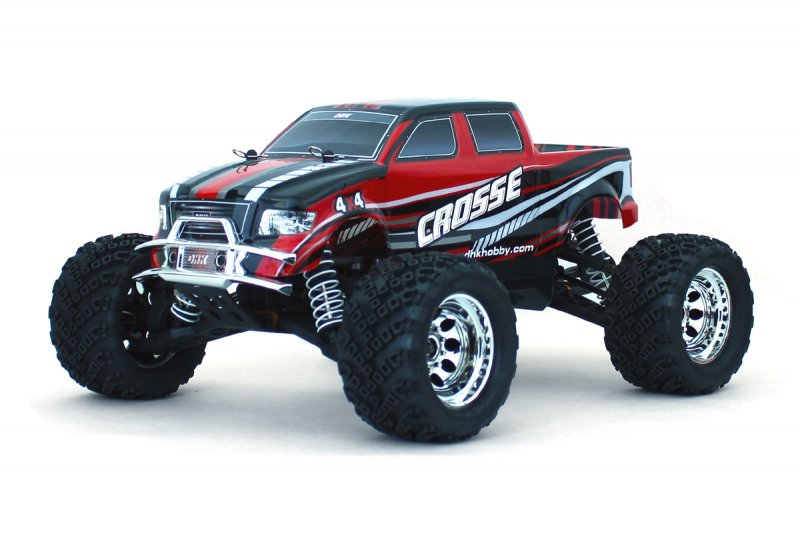 Image 3 of Crosse Brushless 1/10 4WD Monster Truck, Ready To Run, No Battery or Charger