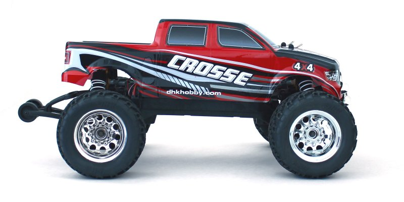 Image 4 of Crosse Brushless 1/10 4WD Monster Truck, Ready To Run, No Battery or Charger