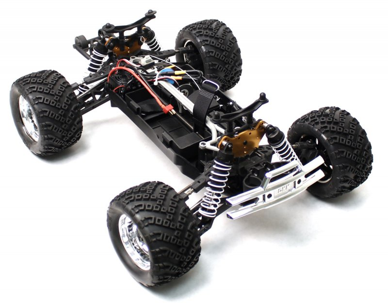 Image 6 of Crosse Brushless 1/10 4WD Monster Truck, Ready To Run, No Battery or Charger