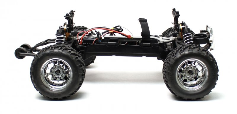 Image 7 of Crosse Brushless 1/10 4WD Monster Truck, Ready To Run, No Battery or Charger