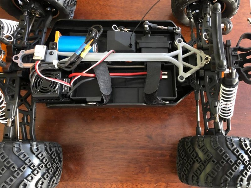 Image 2 of Crosse Brushless 1/10 4WD Monster Truck, Ready To Run, No Battery or Charger