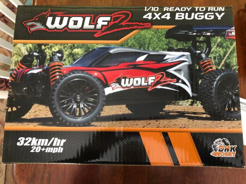 Image 0 of Wolf 2 Buggy RTR, 1/10 Scale, 4WD, w/ Battery, and Charger