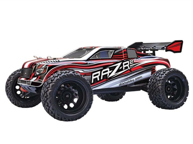 Image 2 of Raz-R 2 Truck RTR, 1/10 Scale, 4WD, w/ Battery and Charger
