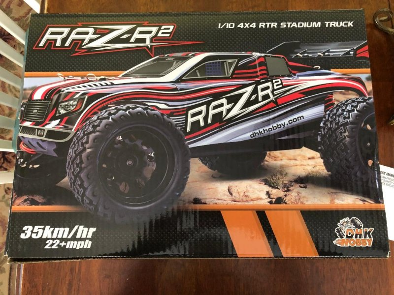 Image 0 of Raz-R 2 Truck RTR, 1/10 Scale, 4WD, w/ Battery and Charger