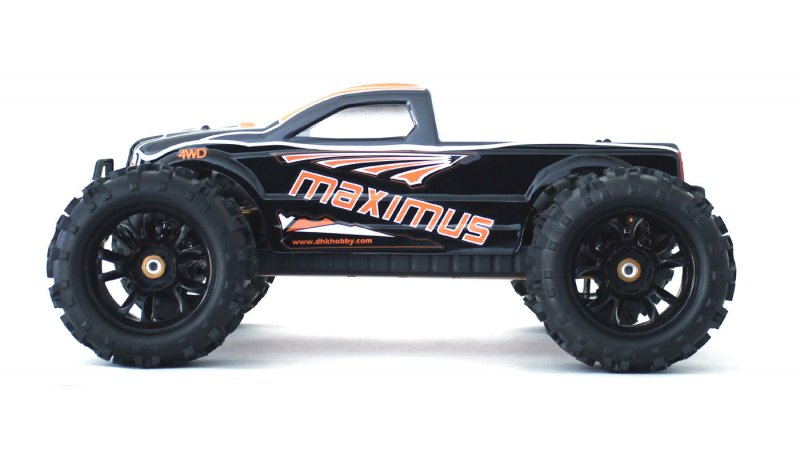 Image 8 of Maximus 1/8 4WD Brushless Monster Truck, Ready To Run, No Battery or Charger