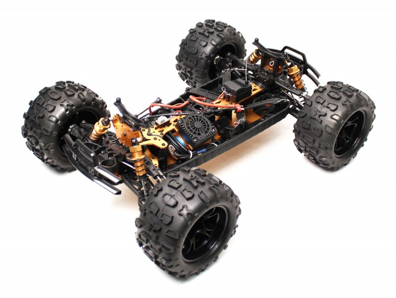 Image 9 of Maximus 1/8 4WD Brushless Monster Truck, Ready To Run, No Battery or Charger