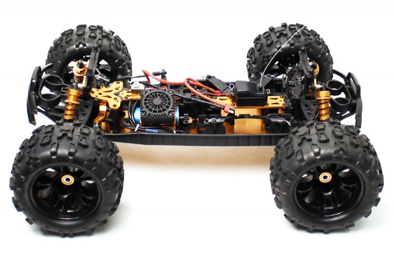 Image 10 of Maximus 1/8 4WD Brushless Monster Truck, Ready To Run, No Battery or Charger