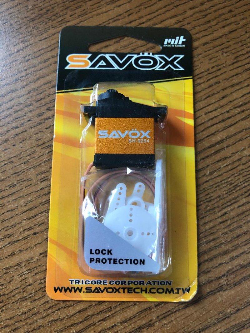 Image 0 of Savox 0254 Micro Digital Servo .13/54 @6V