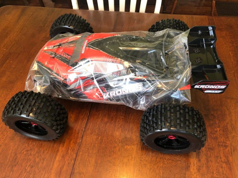 Image 0 of Corally 1/8 Kronos XP 4WD Monster Truck 6S Brushless RTR (No Battery or Charg