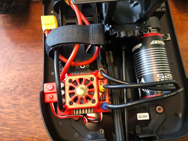 Image 6 of Corally 1/8 Kronos XP 4WD Monster Truck 6S Brushless RTR (No Battery or Charg